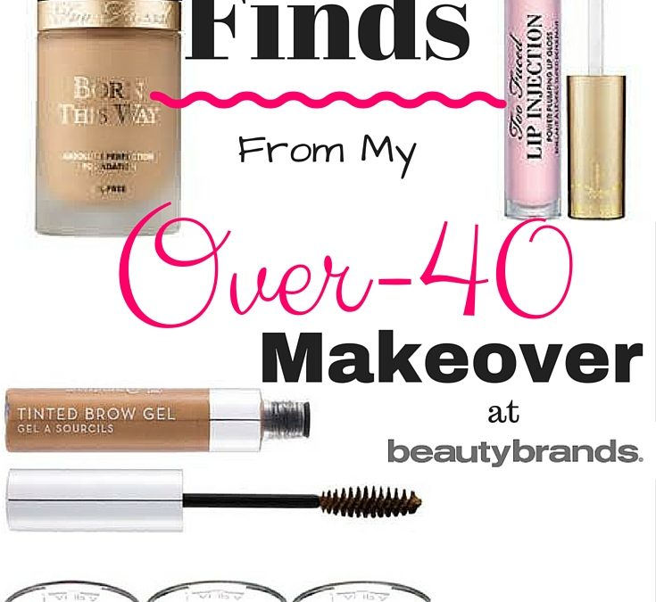 My Over-40 Makeover at Beauty Brands