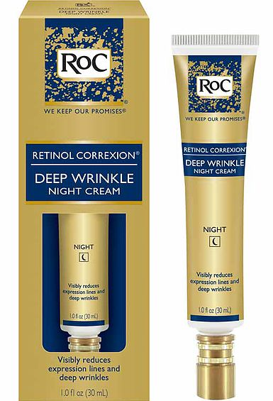 Roc retinol deep wrinkle night cream reviews