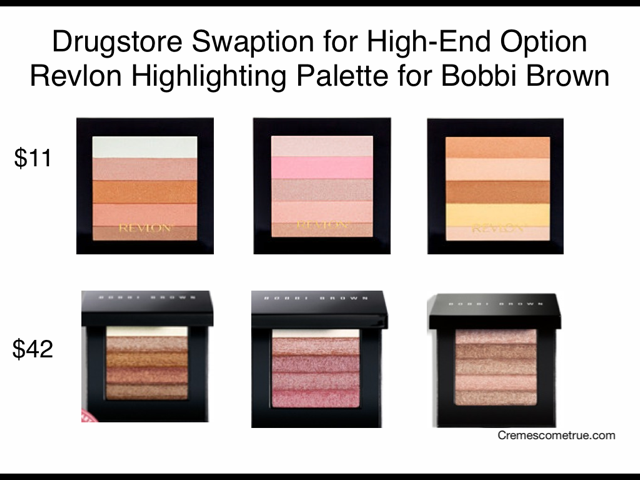 Revlon Highlighting Palettes Bobbi Brown Dupe