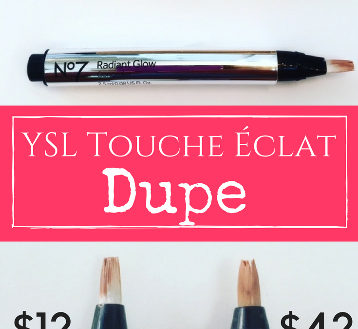 No7 Radiant Glow Concealer Review YSL Touche Eclat Randiant Touch
