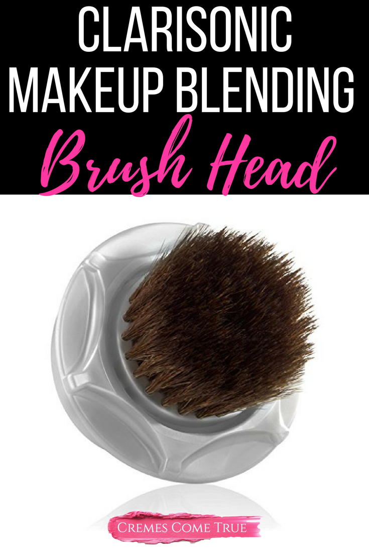 Clarisonic Sonic Foundation Makeup Brush Review Cremes Come True