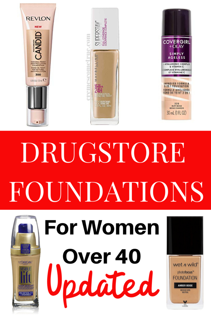 The Best Drugstore Foundations Over 40 Cremes Come True